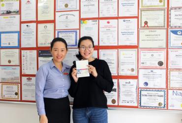 Dương Thị Minh Hiếu: Nữ sinh Đà Nẵng được 2 trường đại học Mỹ cấp học bổng