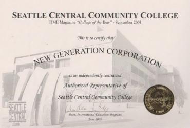 Hội thảo học bổng trường Seattle Central College ngày 27/09/2018 tại TP.HCM