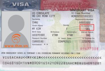 Chúc mừng chị Châu Mỹ Kim được cấp thị thực tái nhập cảnh SB-1 cho thường trú nhân Hoa Kỳ