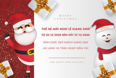 Thông báo nghỉ lễ Giáng Sinh 2020